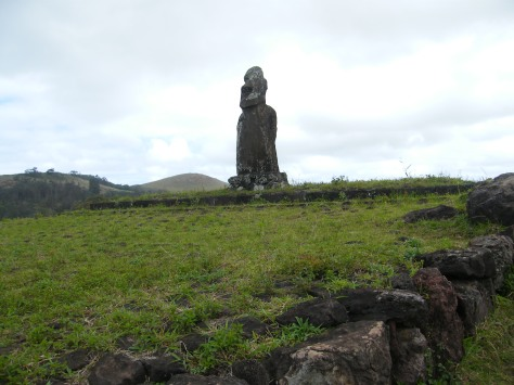 The moai at Huri A Urenga