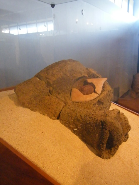 An original moai eye